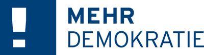 Logo Mehr Demokratie