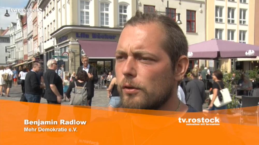 (Screenshot aus der TV Rostock-Sendung vom 16.8.2017)