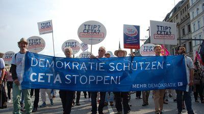 TTIP? CETA? - Volksentscheid!