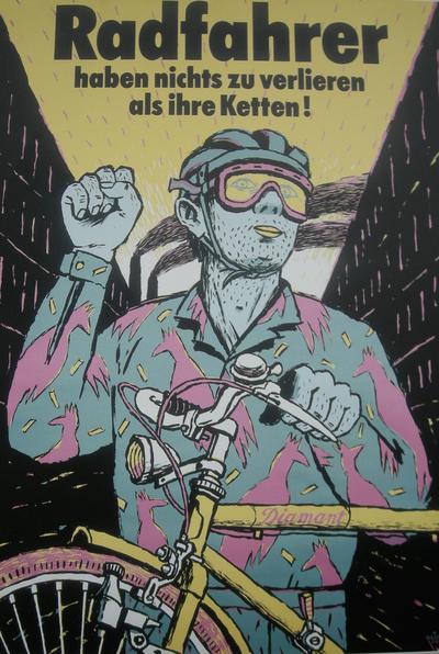 Foto by Jure Cuhalev | Bildtitel: Radfahrer haben nichts zu verlieren als ihre Ketten! | Lizenz: CC BY 2.0 (https://creativecommons.org/licenses/by/2.0)