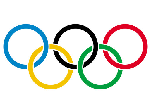 Olympic flag von Pierre de Coubertin (1863-1937)