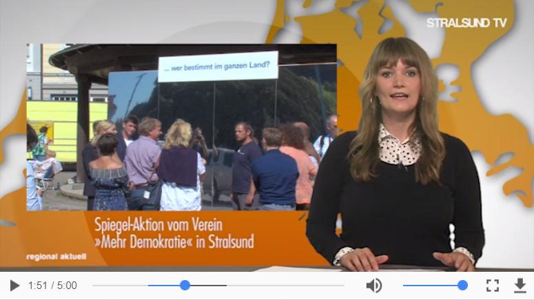 (Screenshot aus der Stralsund TV-Sendung vom 15.8.2017)