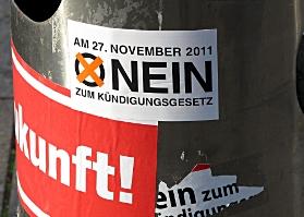 Hohe Beteiligung bei der Abstimmung zu Stuttgart 21.